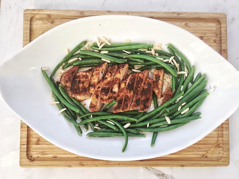pork tenderloin with green beans