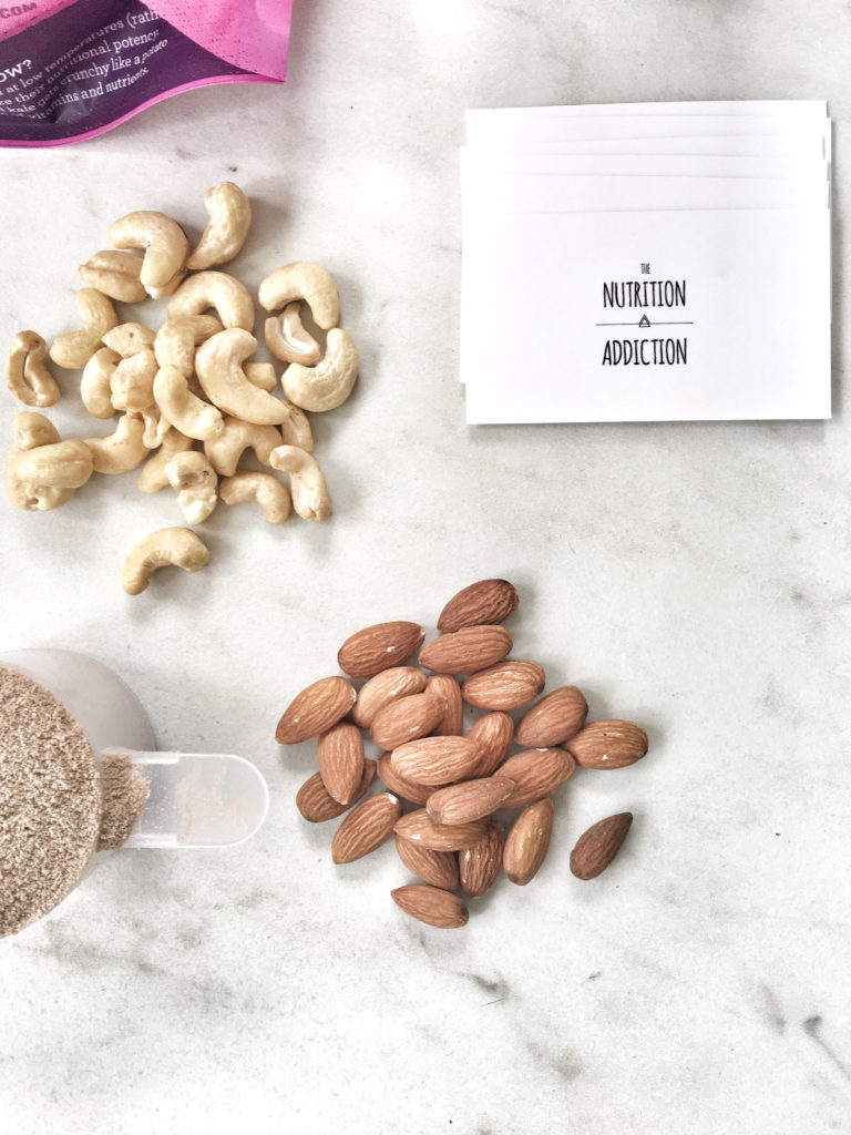 walnuts, pecans, business cards