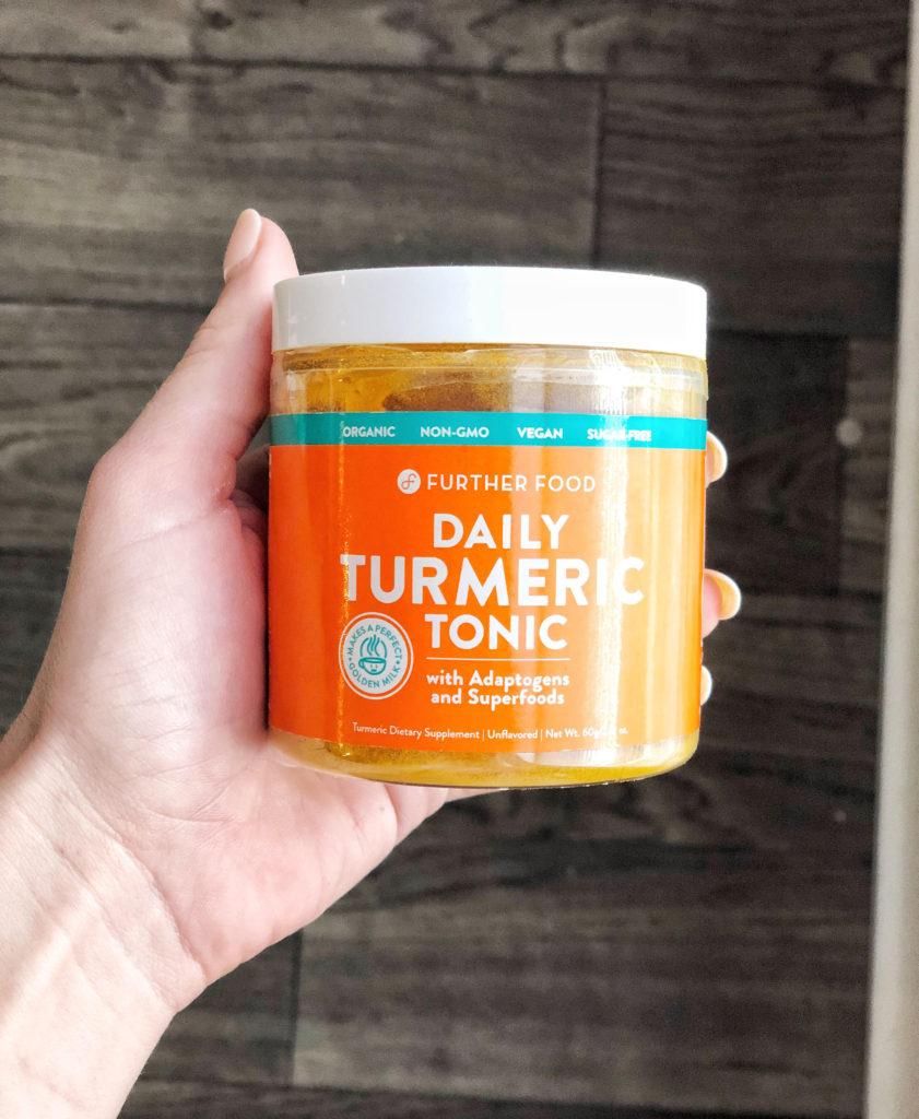 anti-bloat turmeric tonic