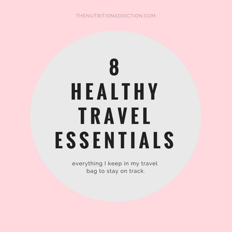 healthy travel essentials