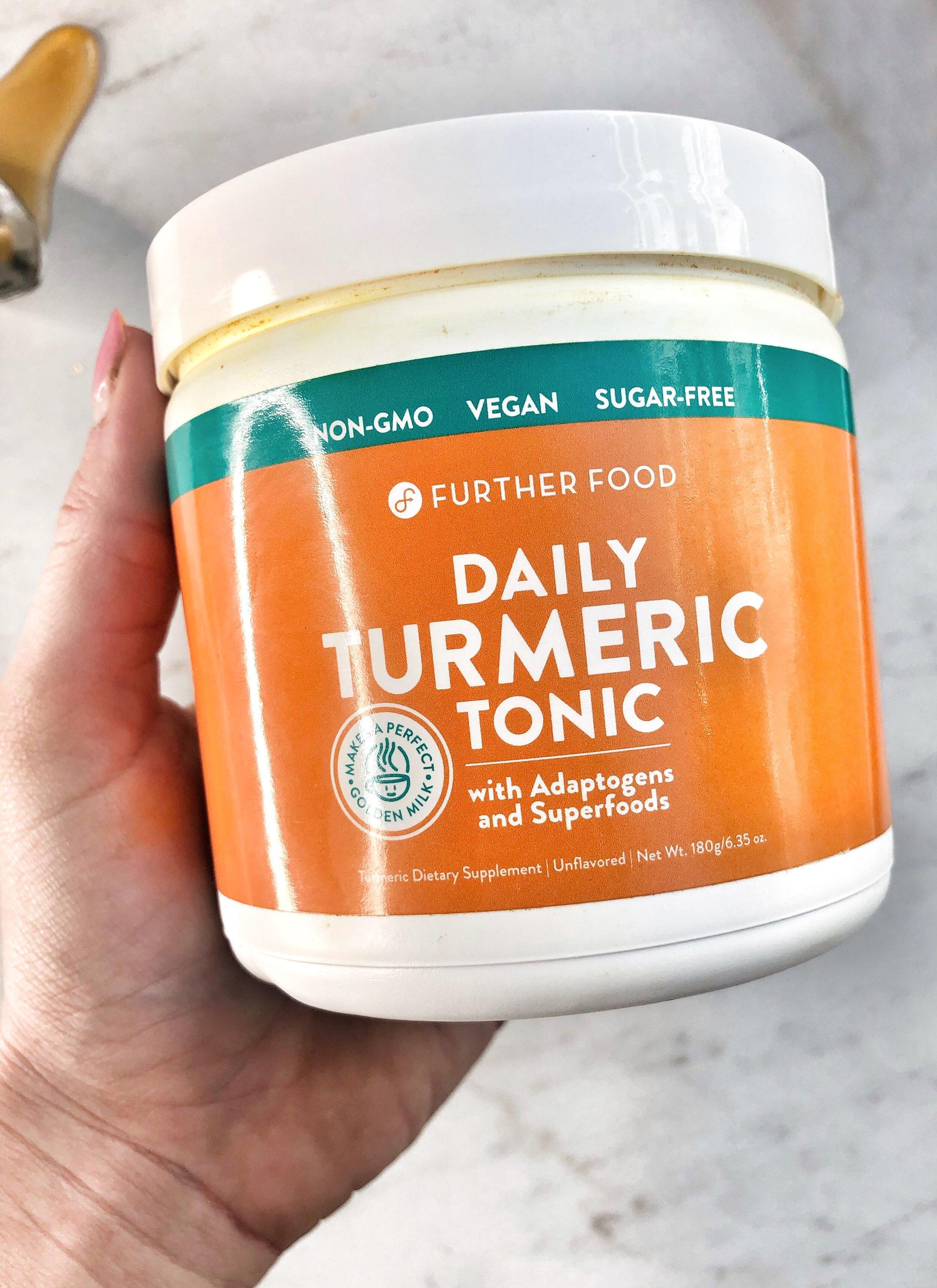 further food daily turmeric tonic