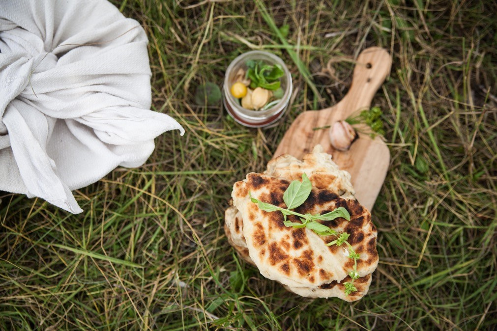 flat bread cooked by the campfire.jpg