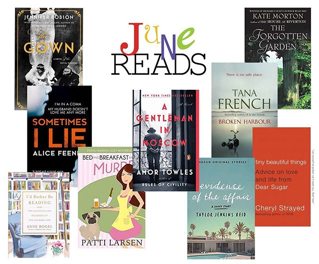 June was a month to sink in and listen and read. Most of these are #audiobooks #whatdidyoureadthismonth #booktherapy #bookish #reading #bookstagram #booksofinstagram #bibliophile #junereads #booknerd #bookworm #bookworm_insta #whatshouldireadnext
