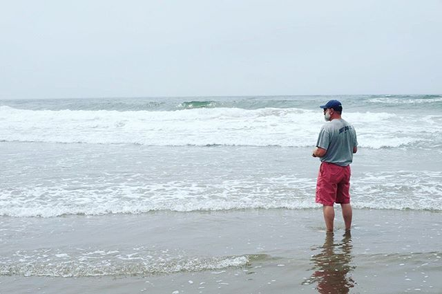 Dipped our toes into the Pacific Ocean. #sanfrancisco #pacificocean #vacation #vaca #vacation2019 #summer #summer2019 #californiadreaming