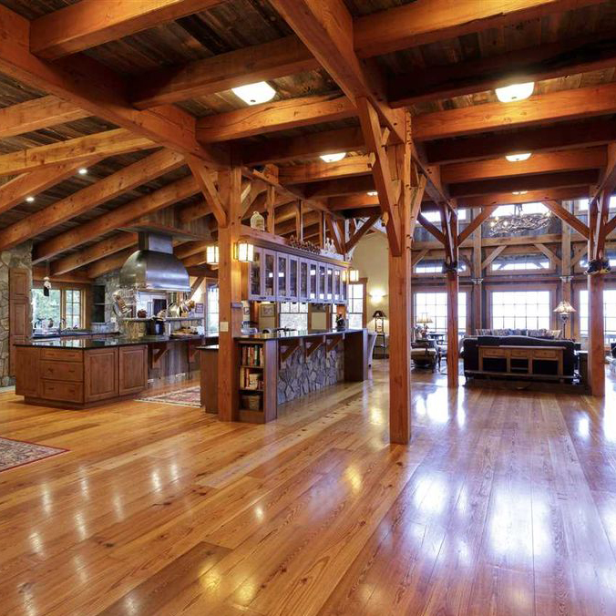 View our Timber Frame floor plans -