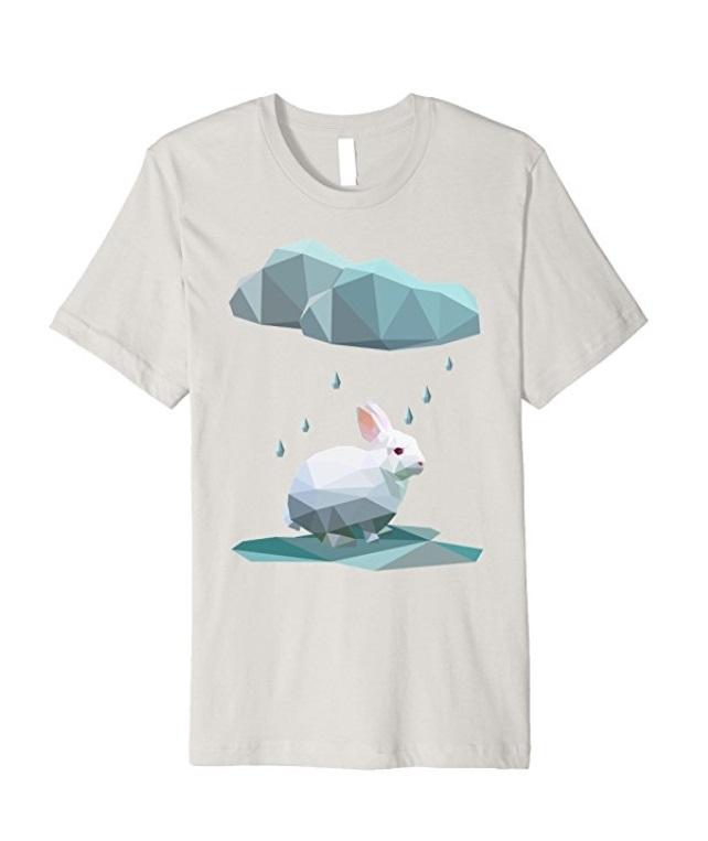 Vengeful Rain Cloud Stalks Bunny - $19.99