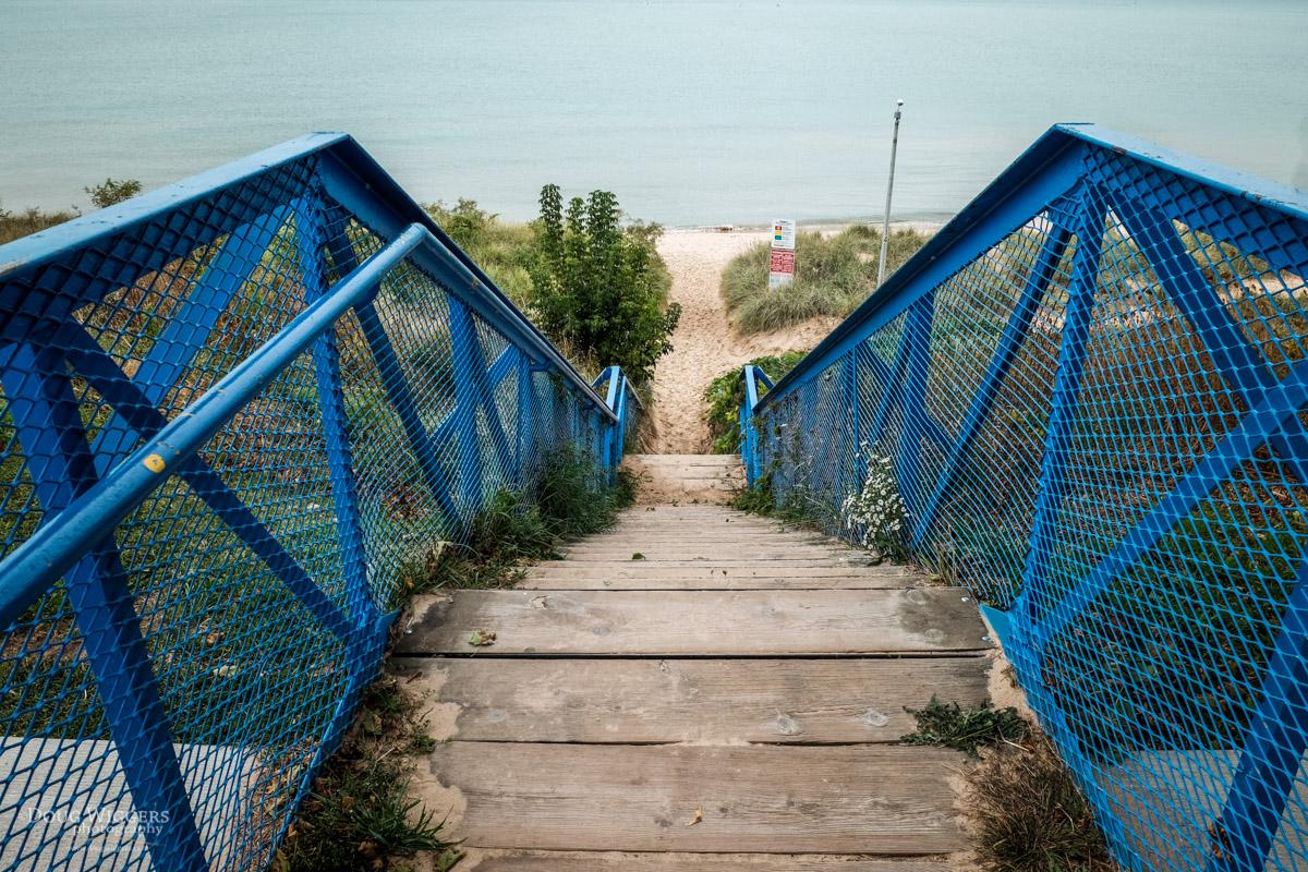 Blue Stairs, Again