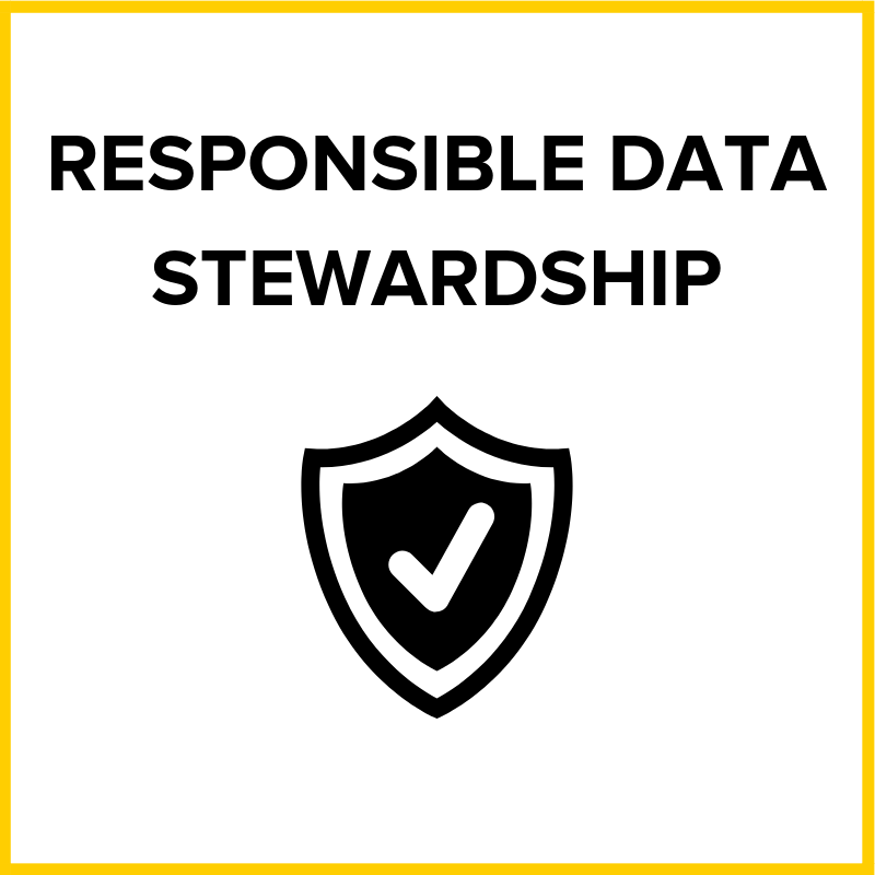 User data should be treated with the best interests of everyone involved, and to act in their shared best interests when dealing with the outside world.