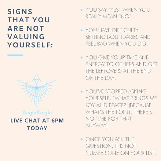 Hop on over to my Facebook page • Angie DeBoise Knight • 6pm tonight for this live discussion!