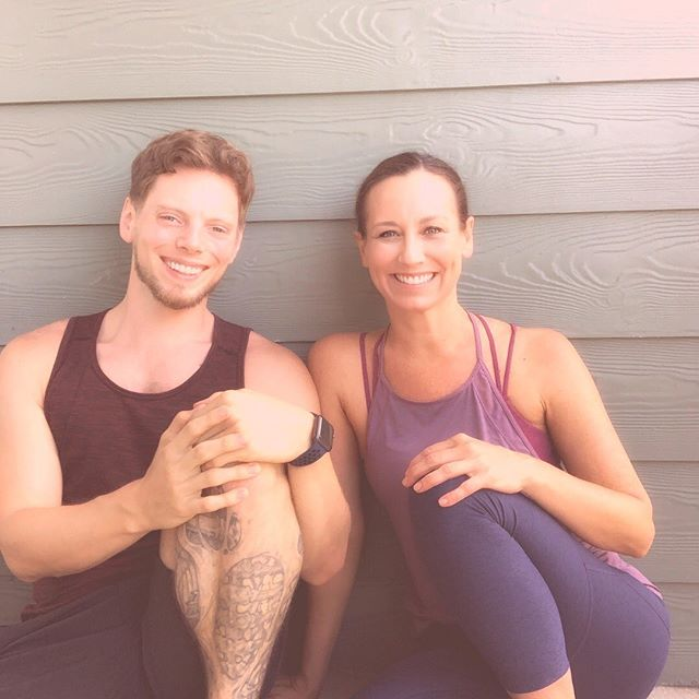 """This is one of my favorite interviews! • I was honored to be the first guest on Jeremy Devens' new podcast! • We have fun discussing: •How to get into a receptive state of intuition and inspiration •How do you distinguish between what is your intuition and what is your conditioning? •What blocks you from following your heart •How to resolve cognitive dissonance •Jeremy and I share limiting beliefs that we have had around money •How to go stop unconsciously creating what you don't want •The importance of having a safe space to process your emotions •What's """"wrong"""" with you is actually your gift •Flexing your 'faith muscles' 💪 •A special discount to upcoming event for listeners!  Click link in bio and podcast is on home page:). @jeremy.quietmind.yoga #angieknightyoga"""