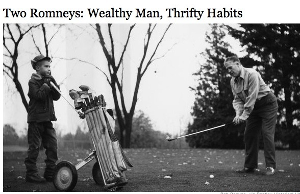 Duh, rich people are rich because they make smart decisions with their money. Sometimes that includes buying golf clubs at K-Mart.    NYT
