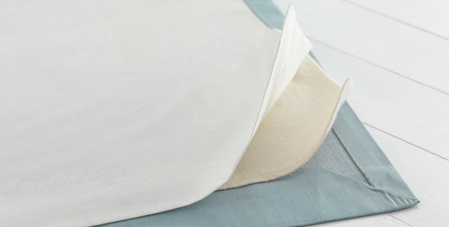 Fabric, interliner and liner. Photo via  Loom & Last .