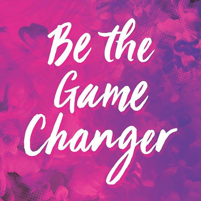Our mid-week #affirmation 🥰💜 #bethegamechanger