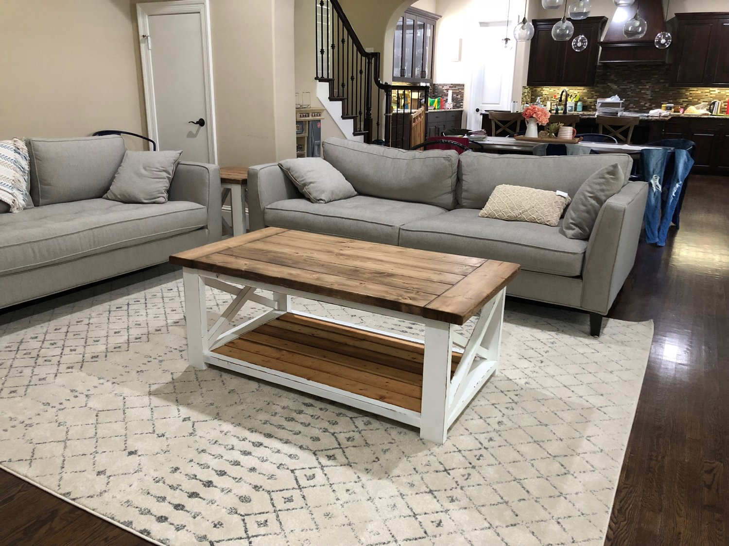 Farmhouse Coffee Table The Woodhills