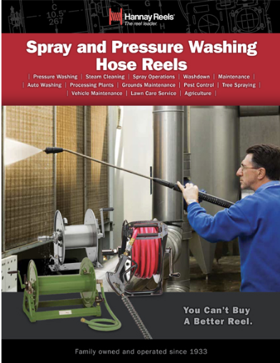 Spray & Pressure Washer Reels