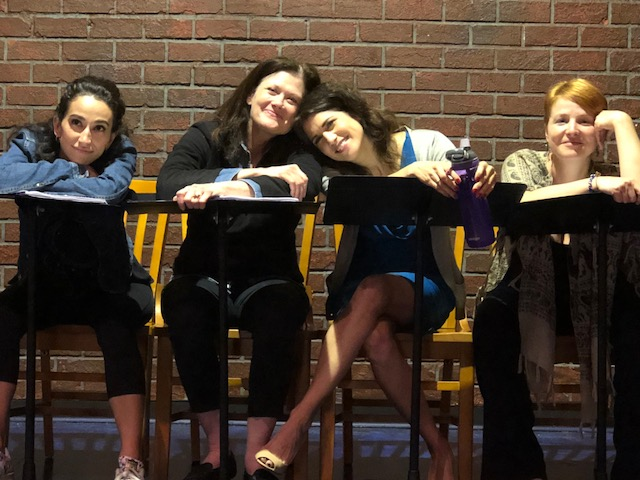 Sarah's new play featured in  FST's Richard and Betty Burdick Playreading Series .