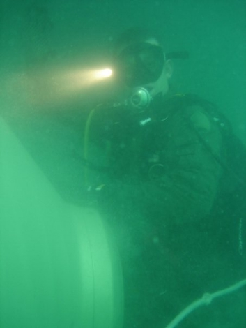 Veteran Navy EOD tech Battling PTSD and Depression ( DIVING UNDER CARRIER PIC )
