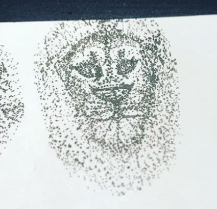 Art Therapy   idea - Pointillism