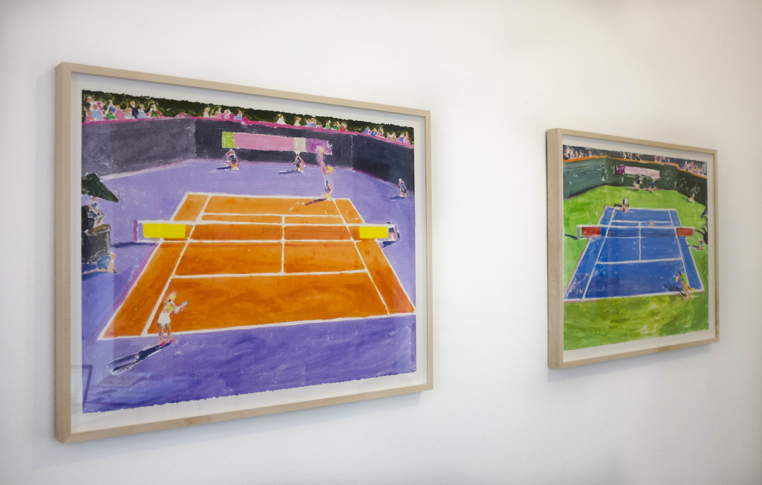 Courts 1 and 2, 2017