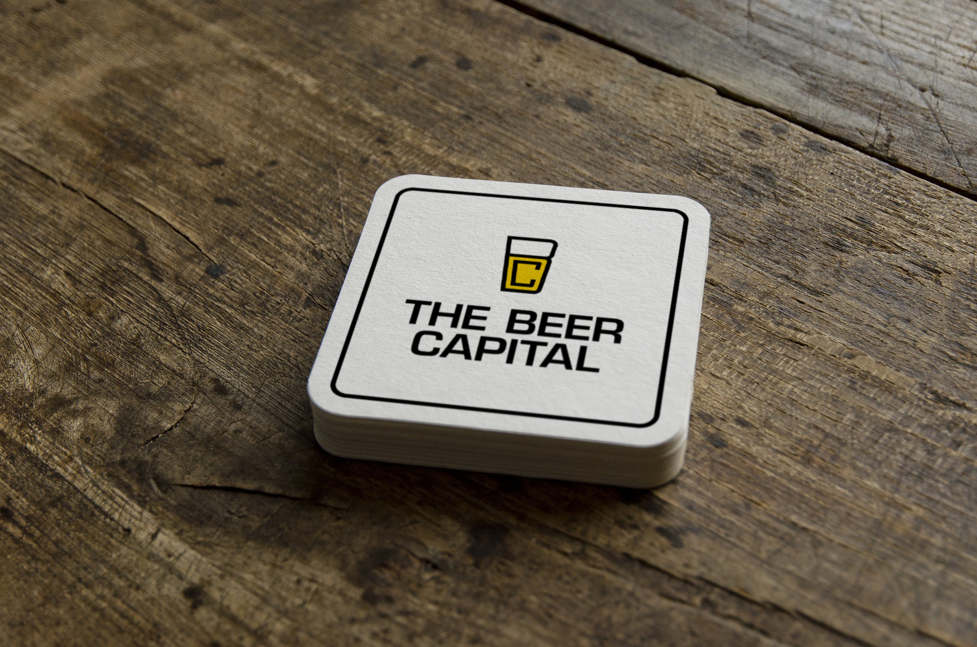 The Beer Capital - Bierkaartje
