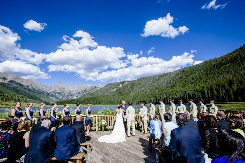 Colorado wedding ceremony planned by Gemini Event Planning