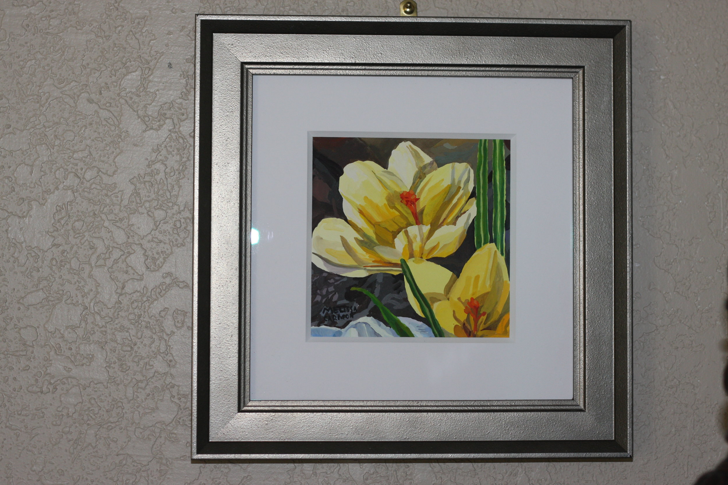Yellow Crocus by Melissa Carmon
