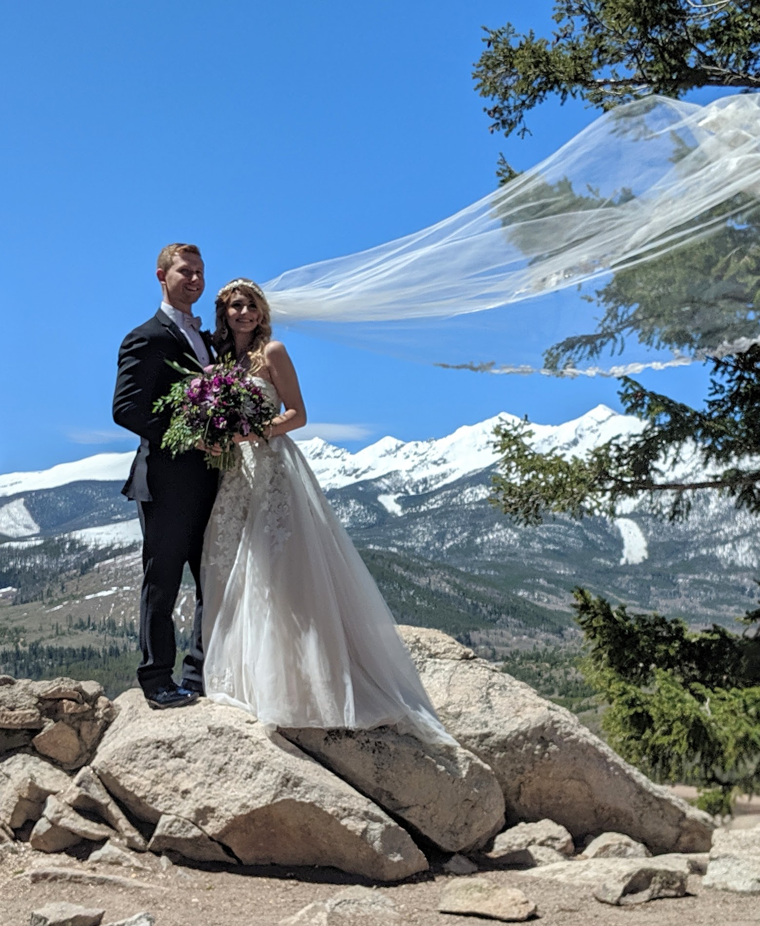 Flute and Strings by Christen Stephens, solo flute wedding ceremony music at Sapphire Point in Dillon, Colorado