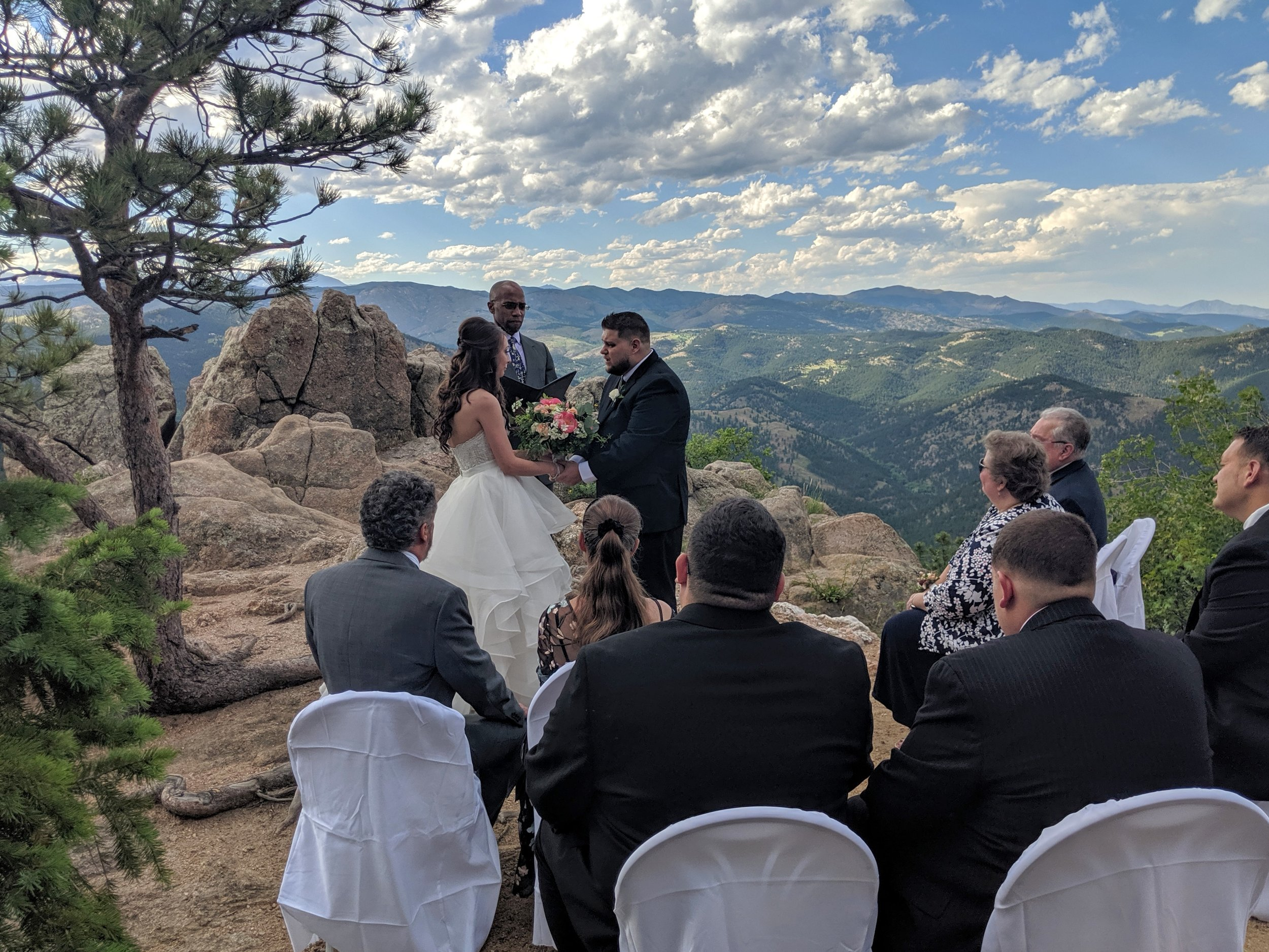 Flute and Strings by Christen Stephens, Solo Flute Wedding Ceremony Music at Cathedral Point Overlook in Boulder, Colorado