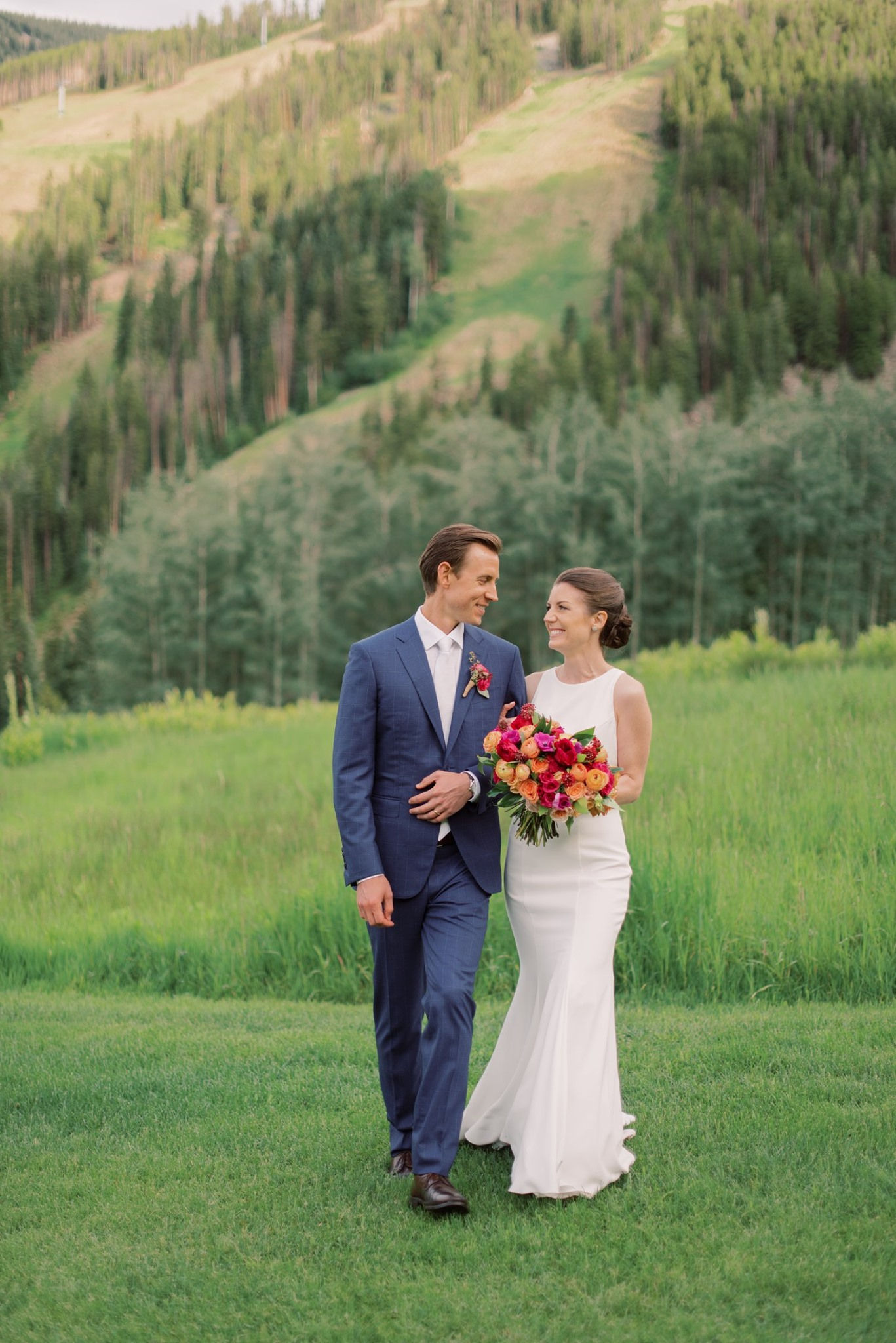Classical and Contemporary String Quartet Wedding Ceremony Music at Beano's Cabin in Beaver Creek, Colorado. Photo by Melissa Brielle Photography.