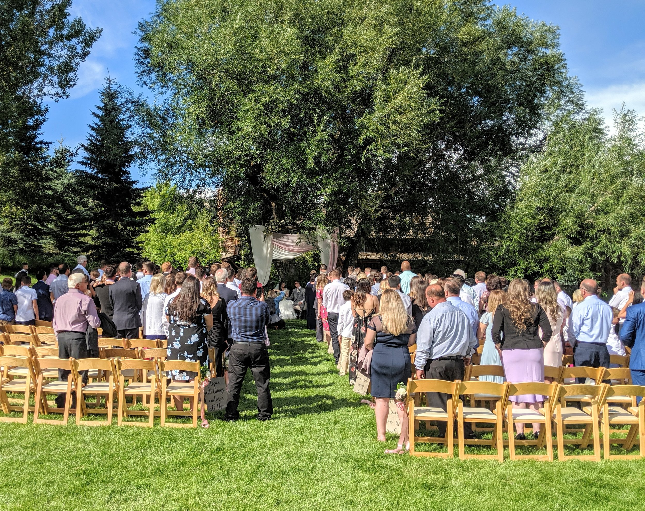 Flute and Strings by Christen Stephens, Flute and Strings Wedding Ceremony Music at Spruce Mountain Ranch in Larkspur, Colorado