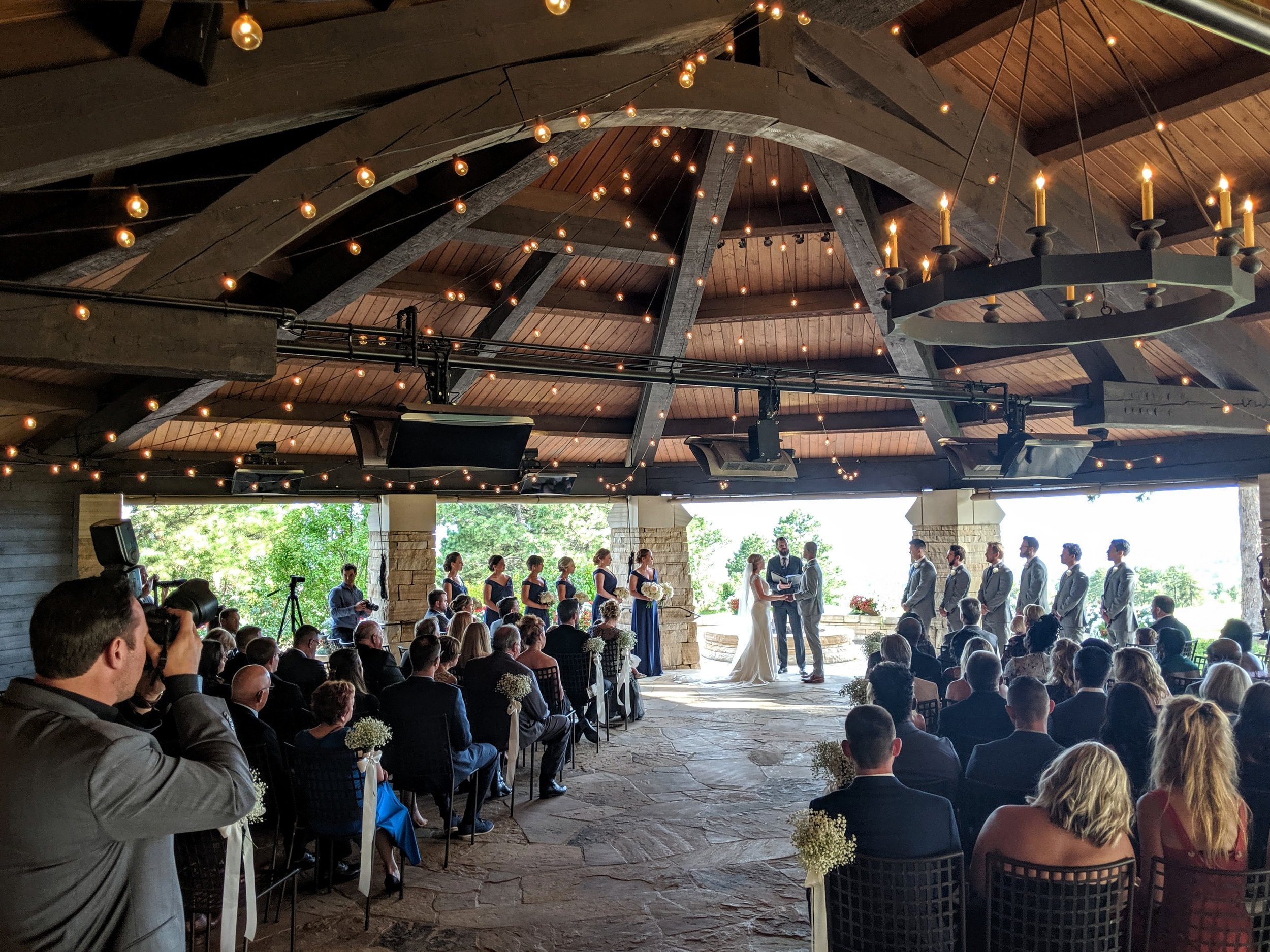 Flute and Strings by Christen Stephens, Classical and Contemporary String Trio Wedding Ceremony Music at the Sanctuary Golf Course in Sedalia, Colorado