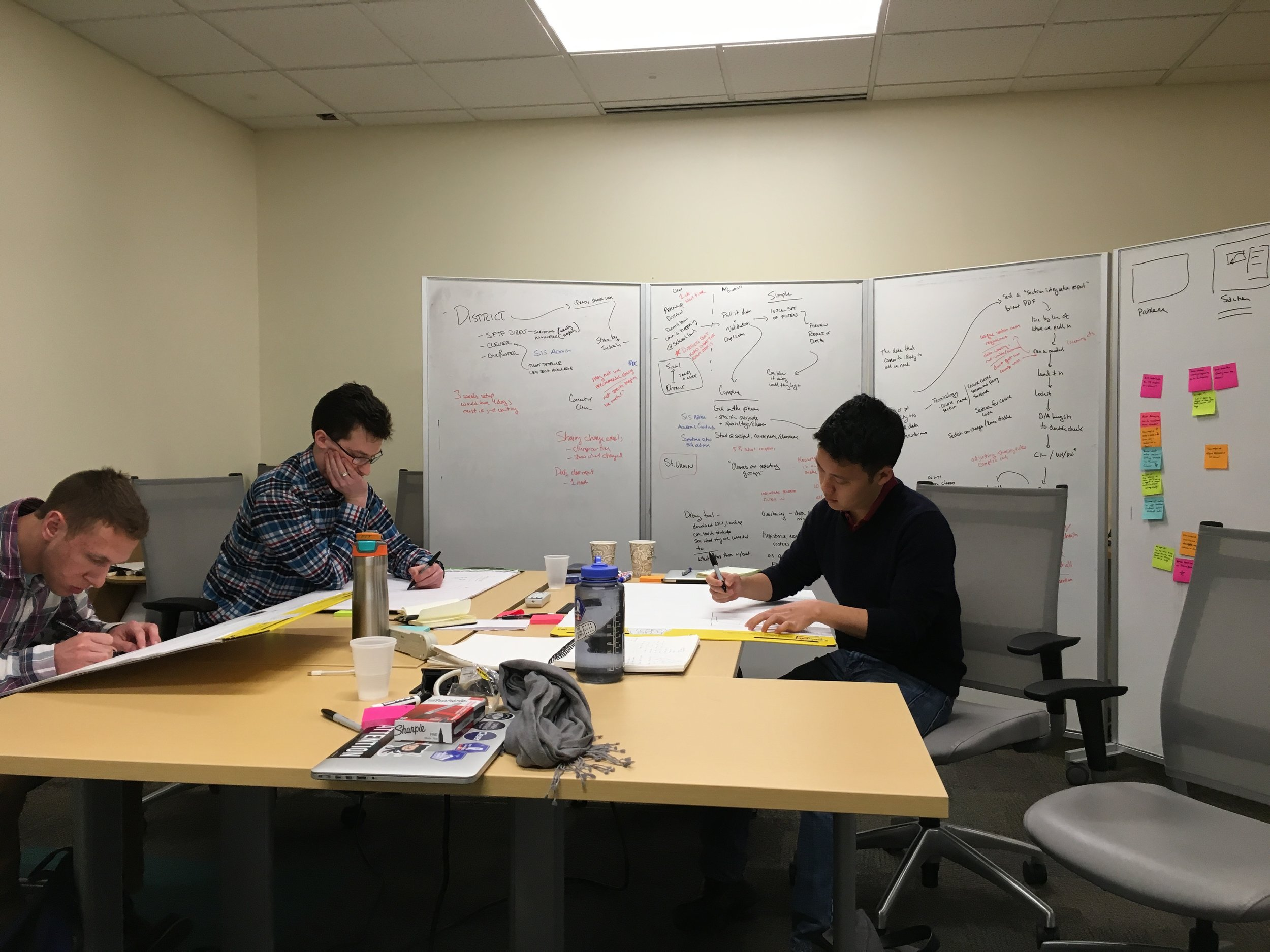 research - I gather, synthesize, and understand the needs and context of users to highlight opportunities and issues with new and existing services and products. My methods include user interviews, process mapping, diary studies, shadowing, and co-design.