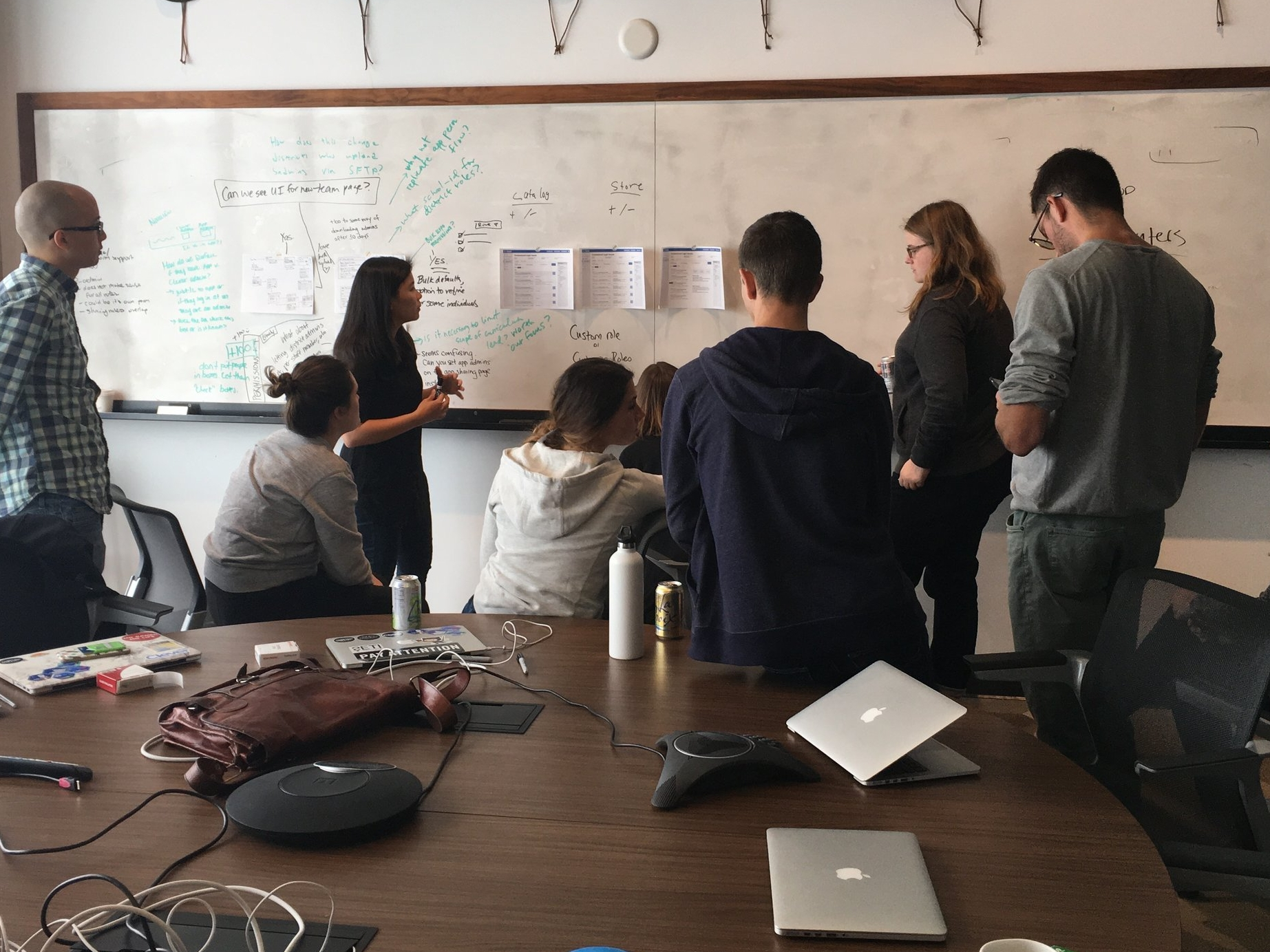 LEADERSHIP - I build inclusive teams that foster excellence in design by coaching and hiring designers to have ownership, autonomy, and trust in their teams.