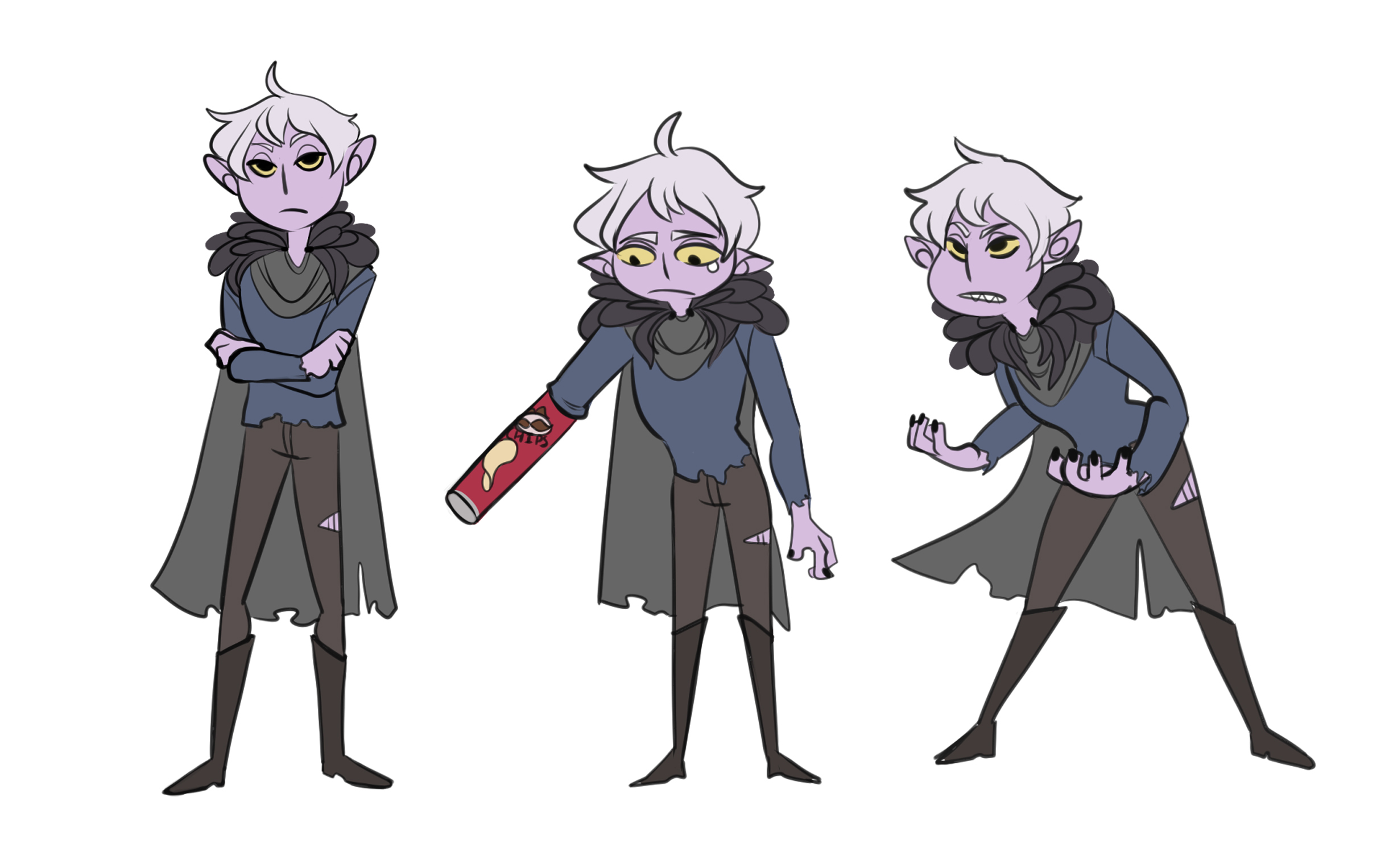 Malcolm, Character concept