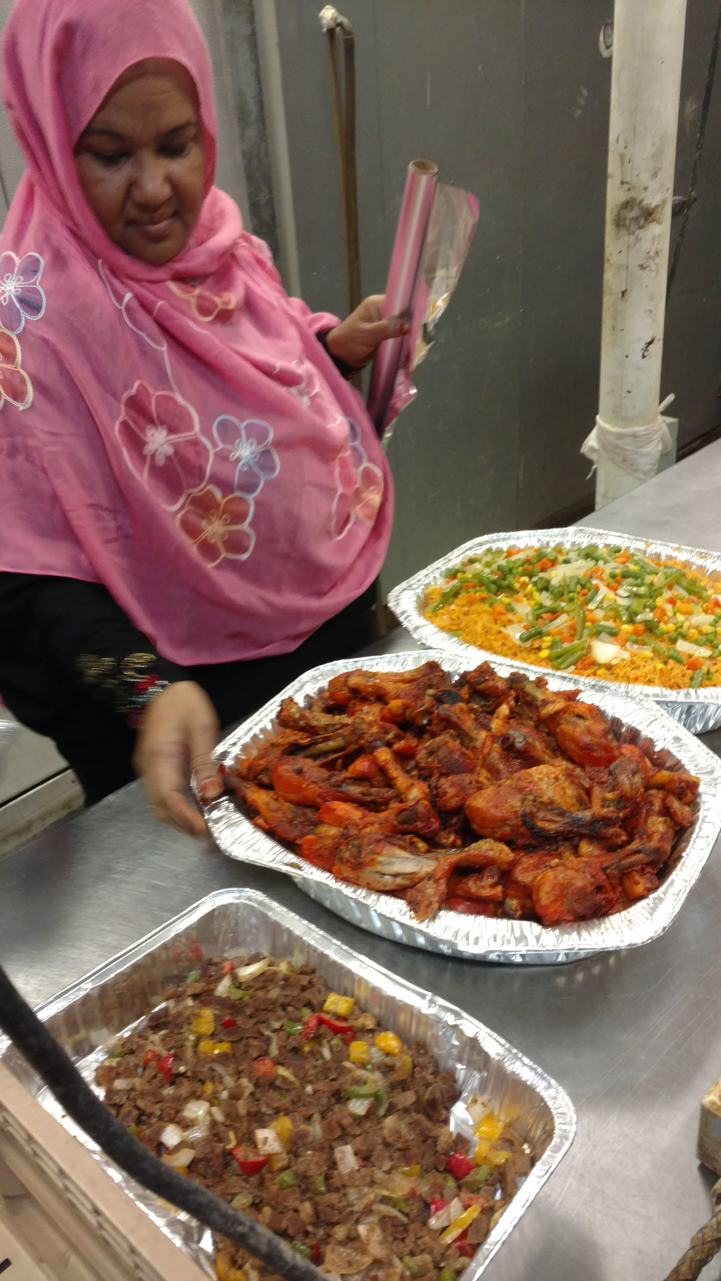 Each team gets plenty of opportunity to try the amazing local flavors. Mama Shukri will rock you socks off!