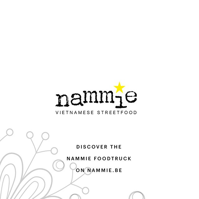 Don't be shy … have a look on our website and contact us with any question you might have … or see where Nammie might be today … to serve you some delicious street food. . . #foodtruck #foodtrucks #vietnamesefood #healthyfood #freshfood #streetfood #orientalflavours . . www.nammie.be