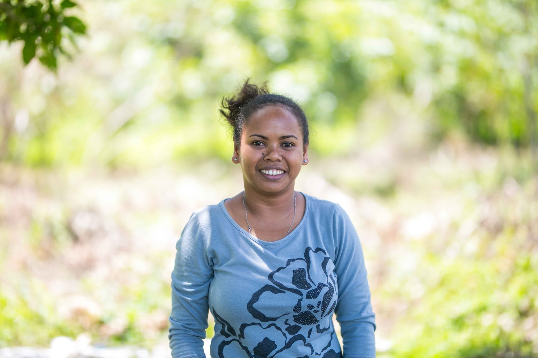 Ria is from the village of Dumagipo. She will graduate from Lual Junior College next spring with a certificate as an Assistant Teacher.  She hopes to be able to give back by working in the Agta elementary school in her home village.