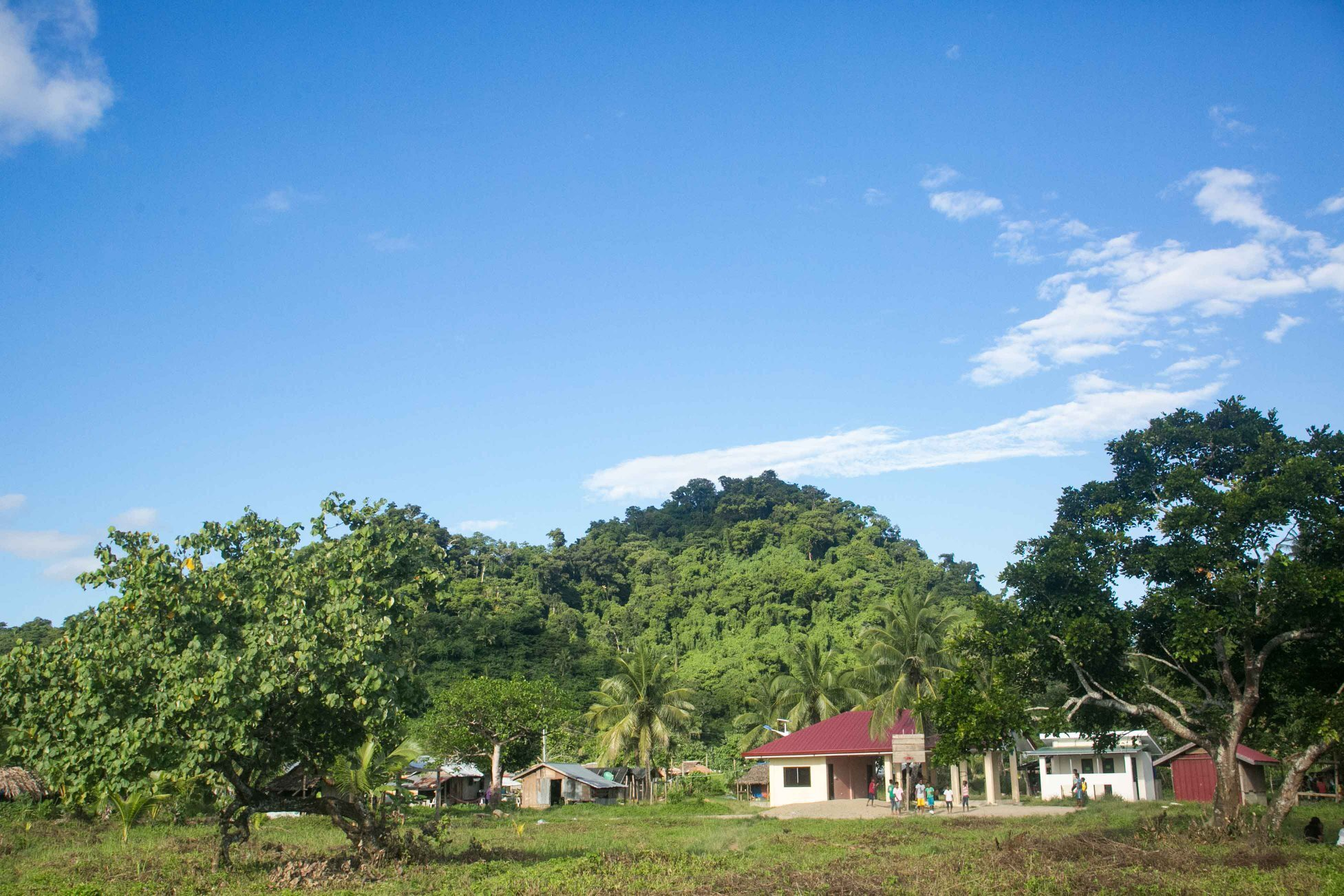Present day image of the Agta village of Dupontian