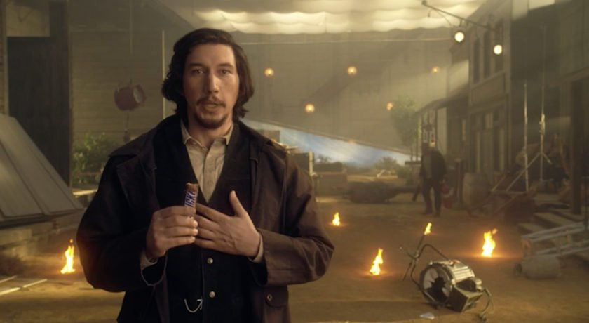 Snickers - Our hand painted backdrop was featured in the 2017 Superbowl live advertisement featuring Adam Driver.