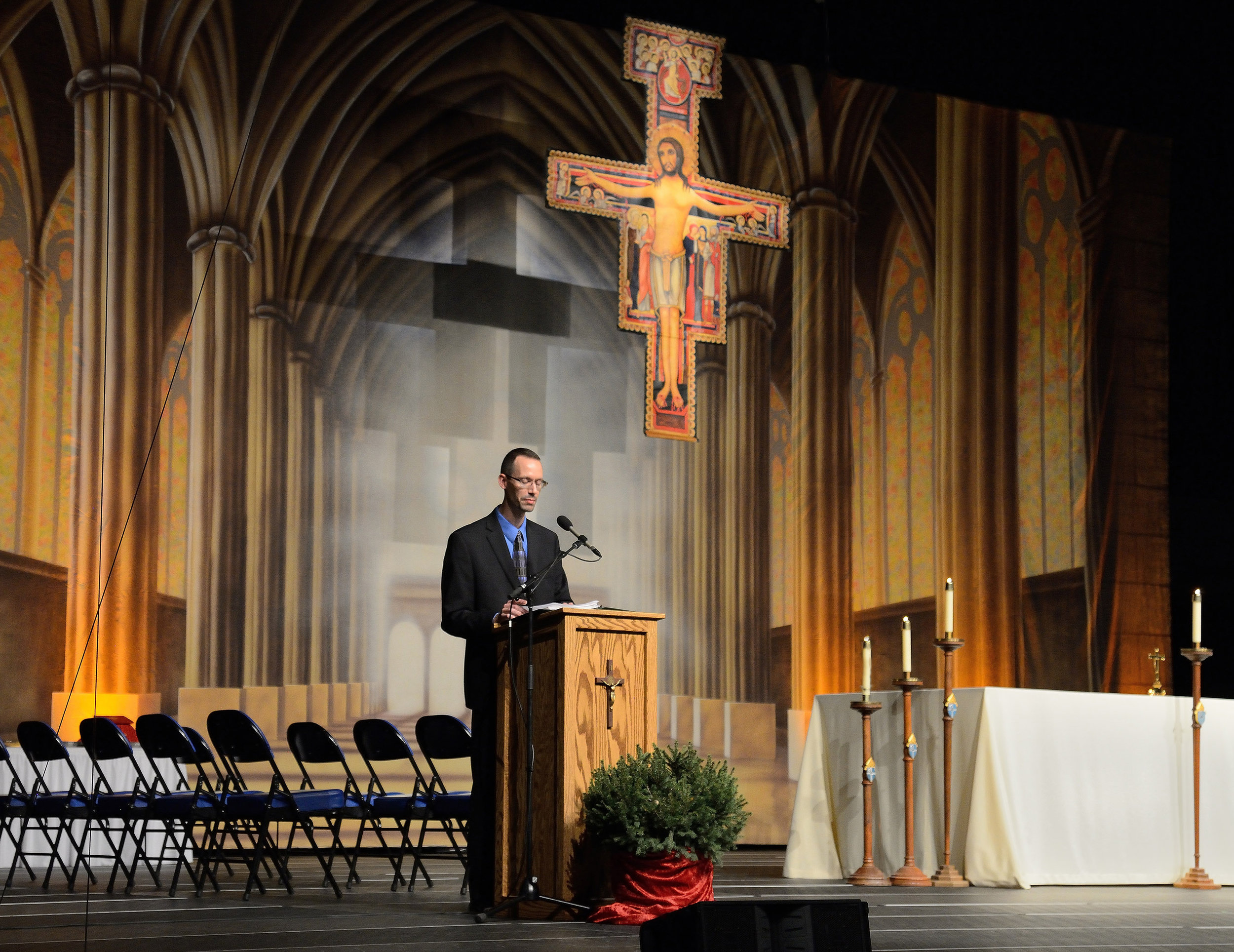 Bismark Diocese Cross install.jpg