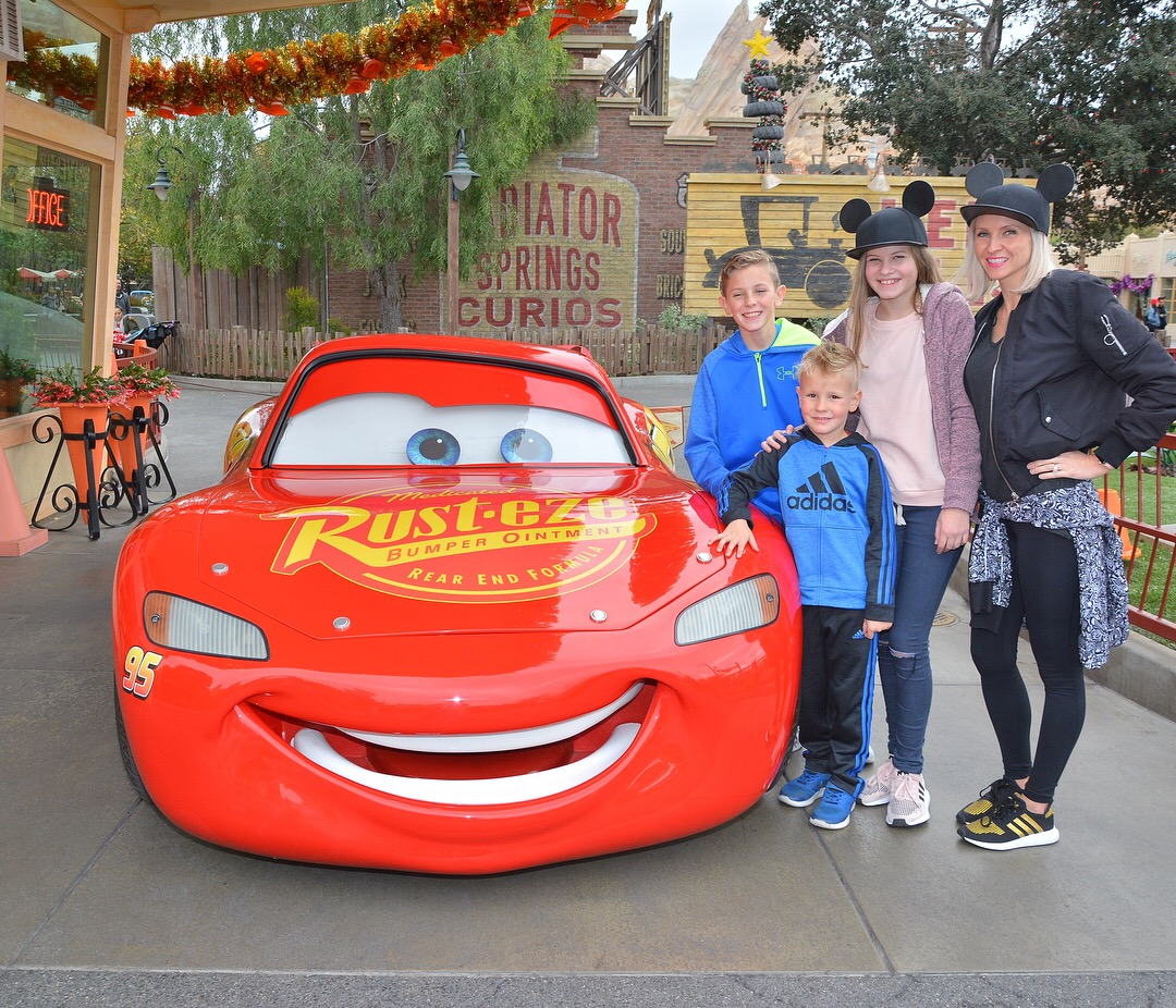 Cars land with the family