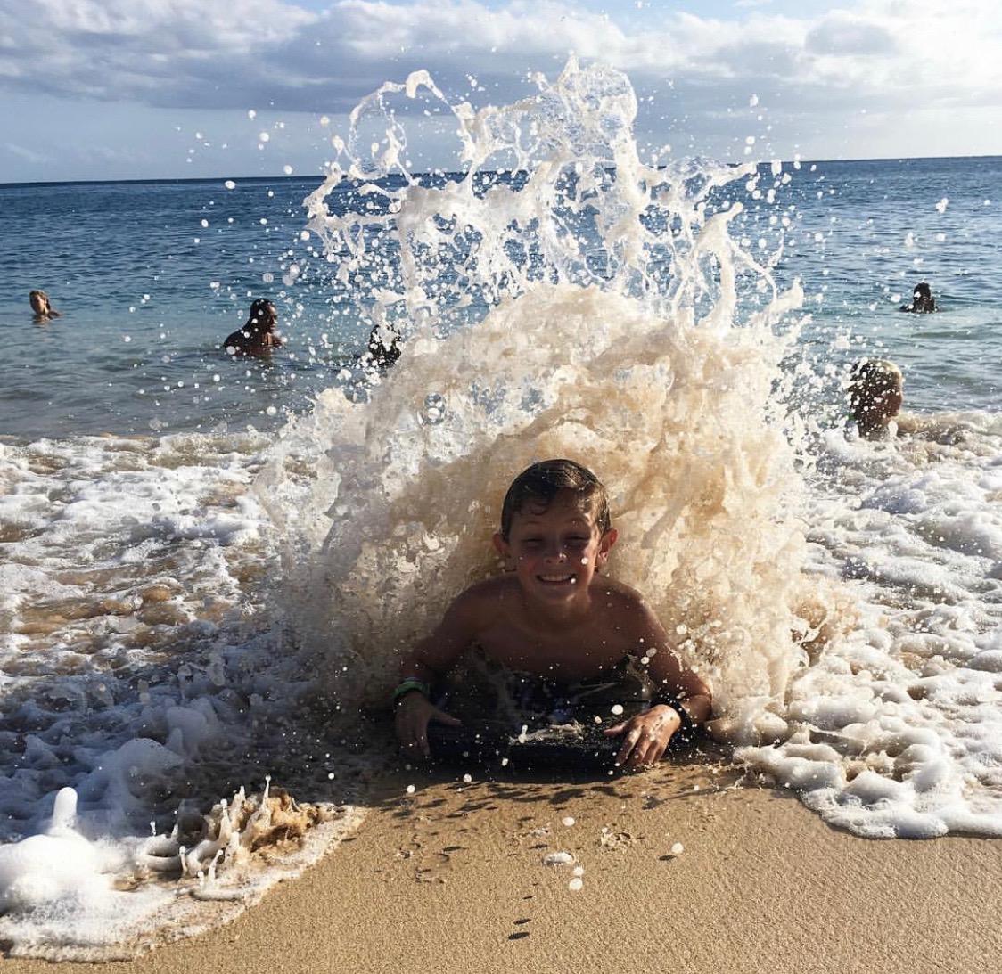 Hawaii Boogie Boarding