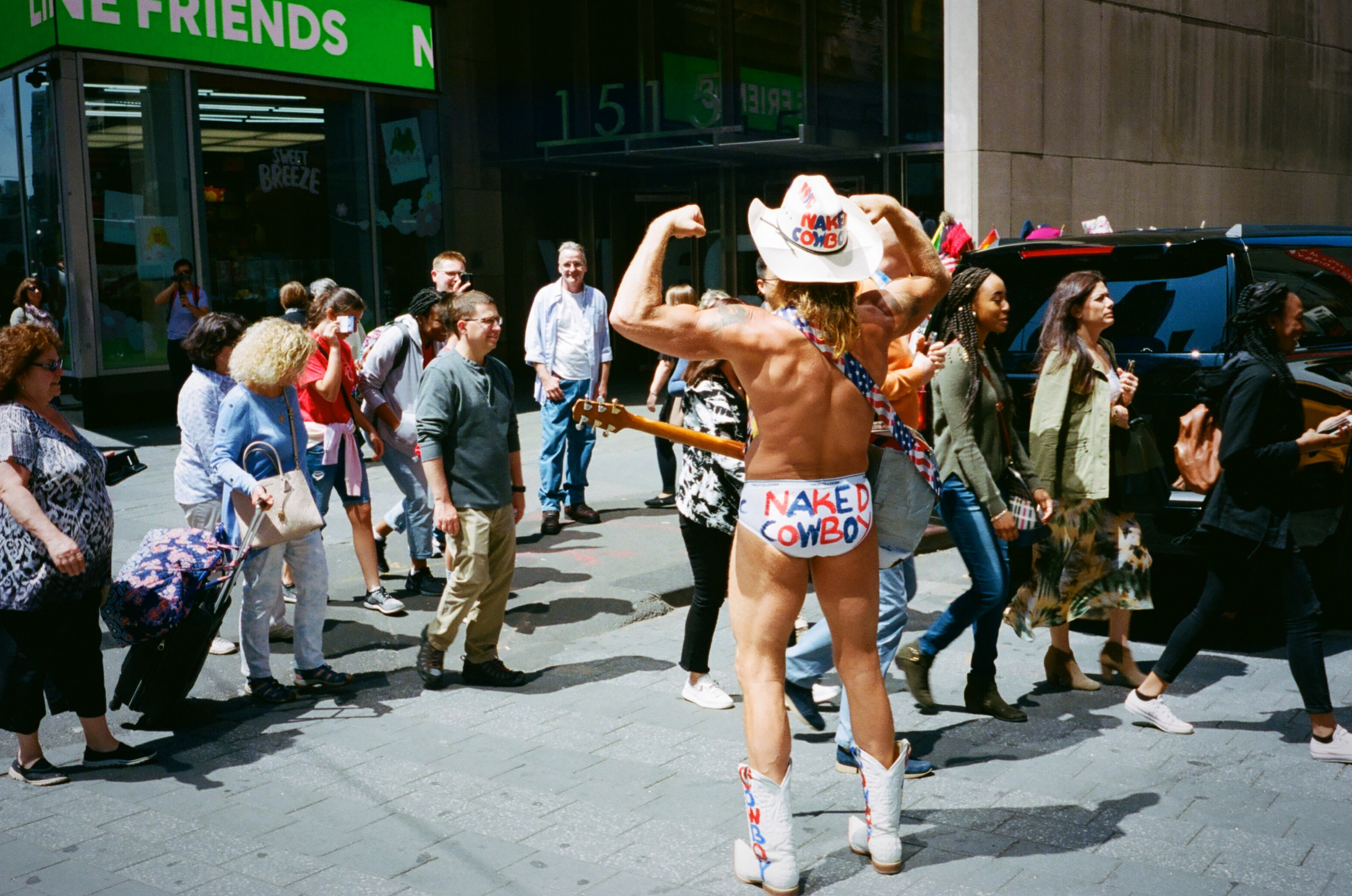 #667: The Naked Cowboy