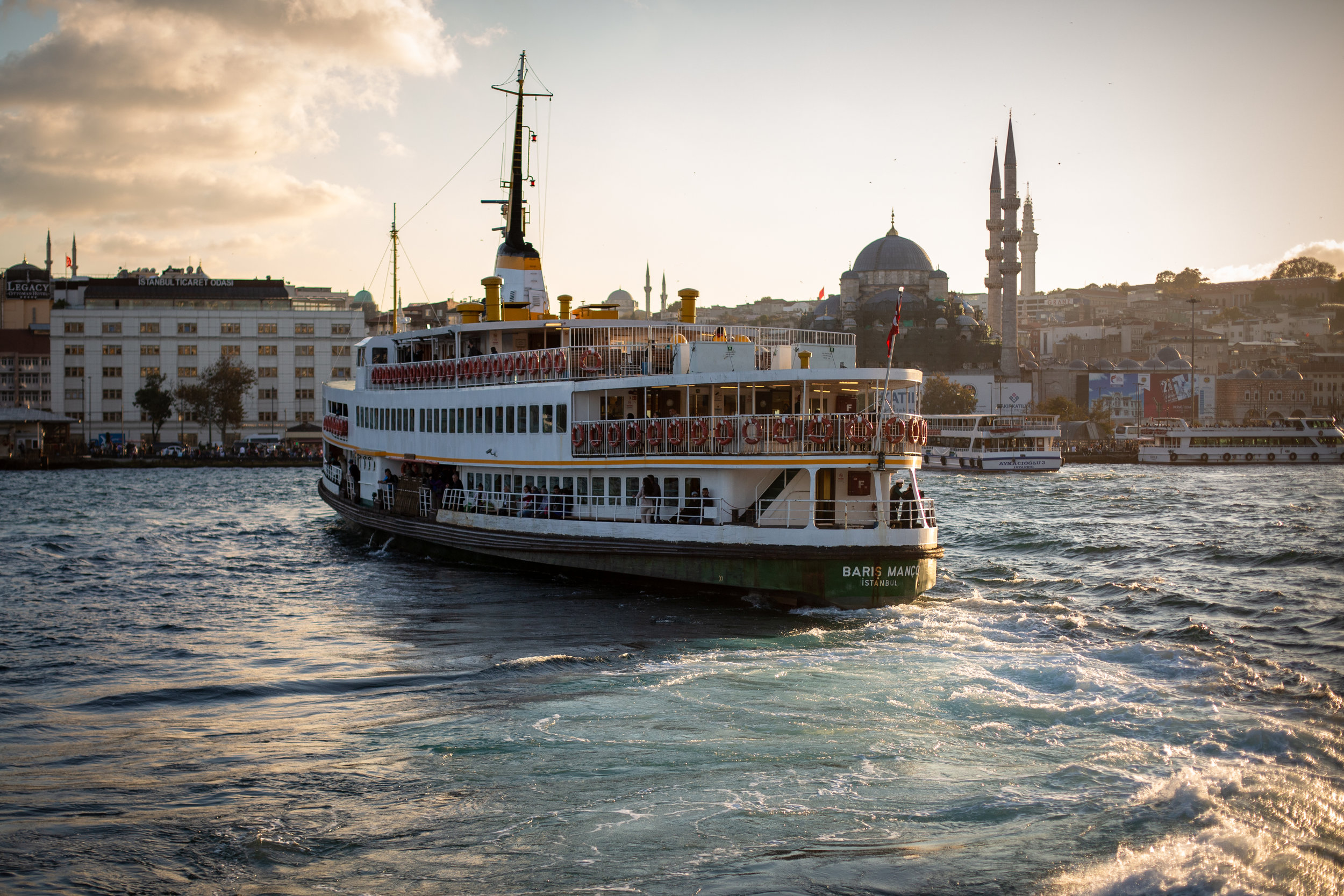 The Golden Horn (at golden hour)