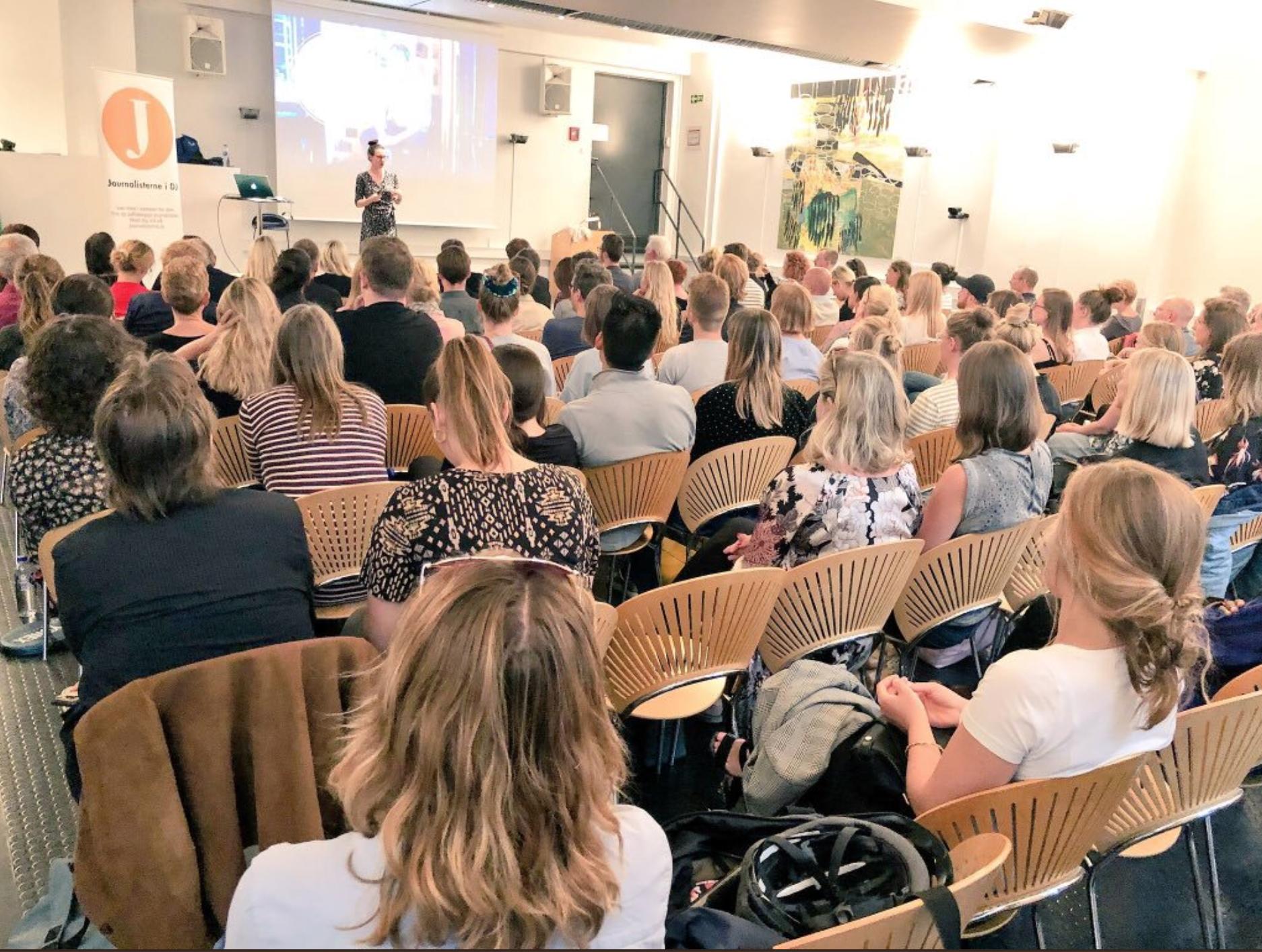 At Politikens in Denmark