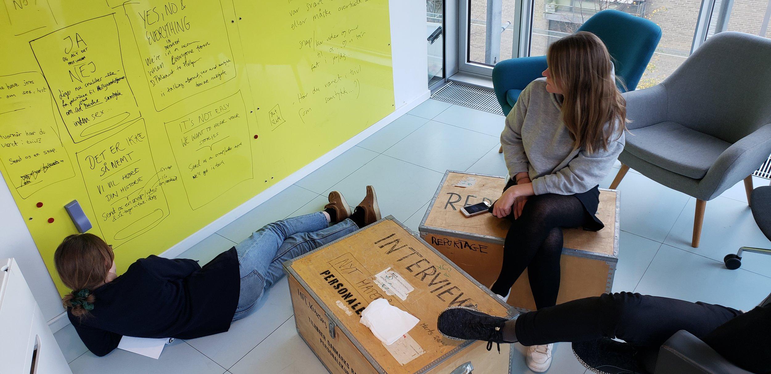 Brainstorming at Dansk Radio