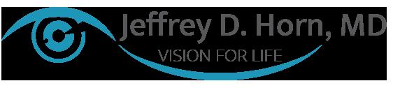 Jeffrey D. Horn, MD Vision For Life Logo