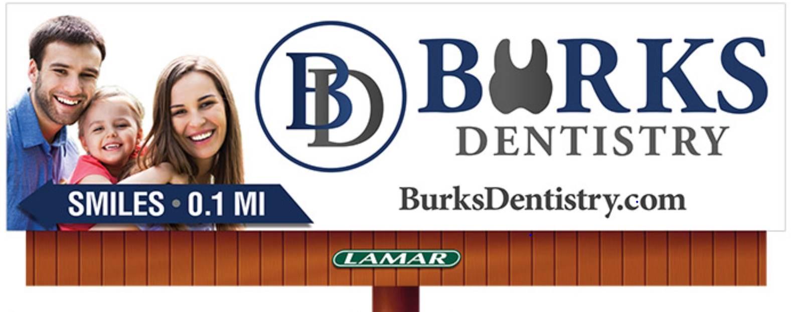 Burks Dentistry Billboard