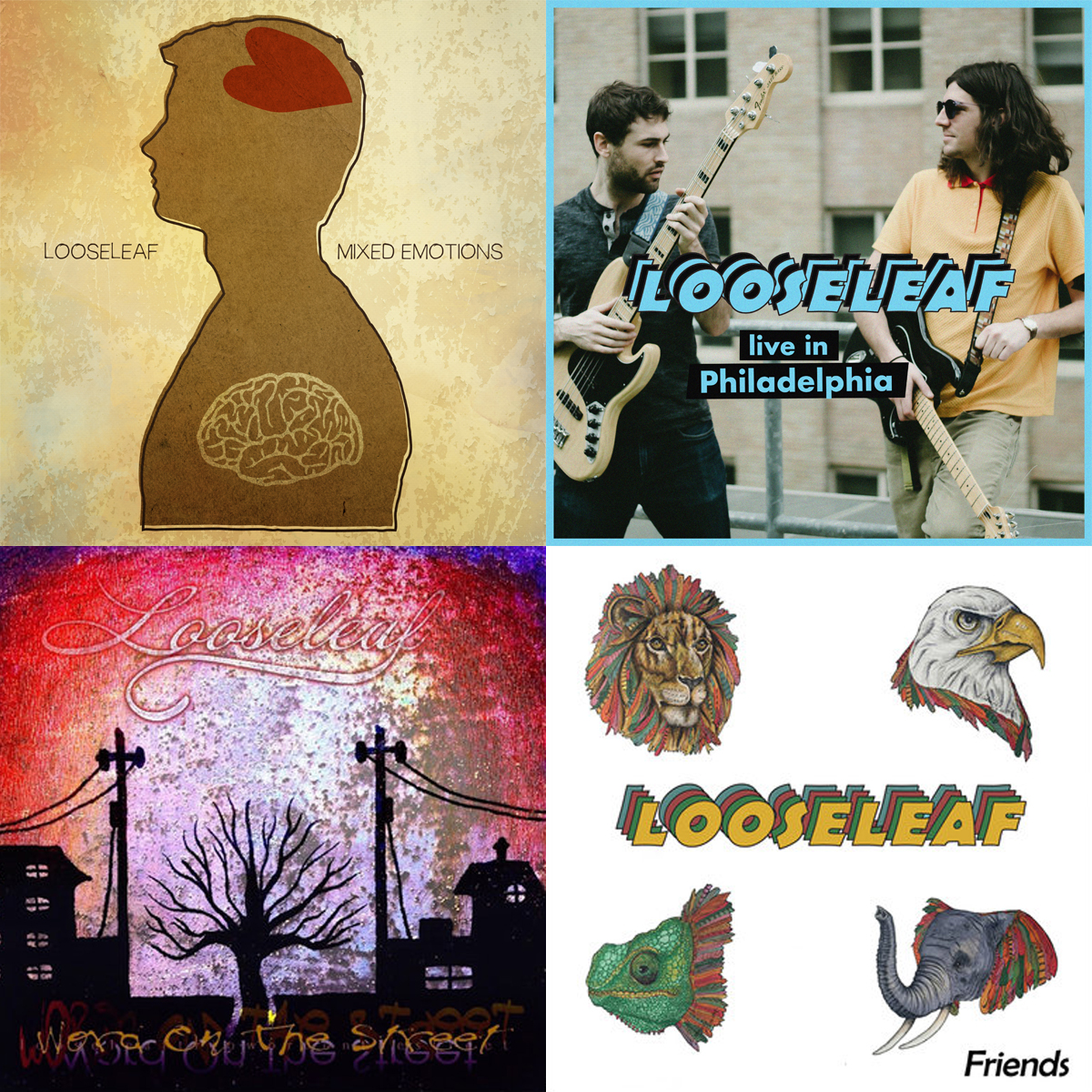 Looseleaf_Discography