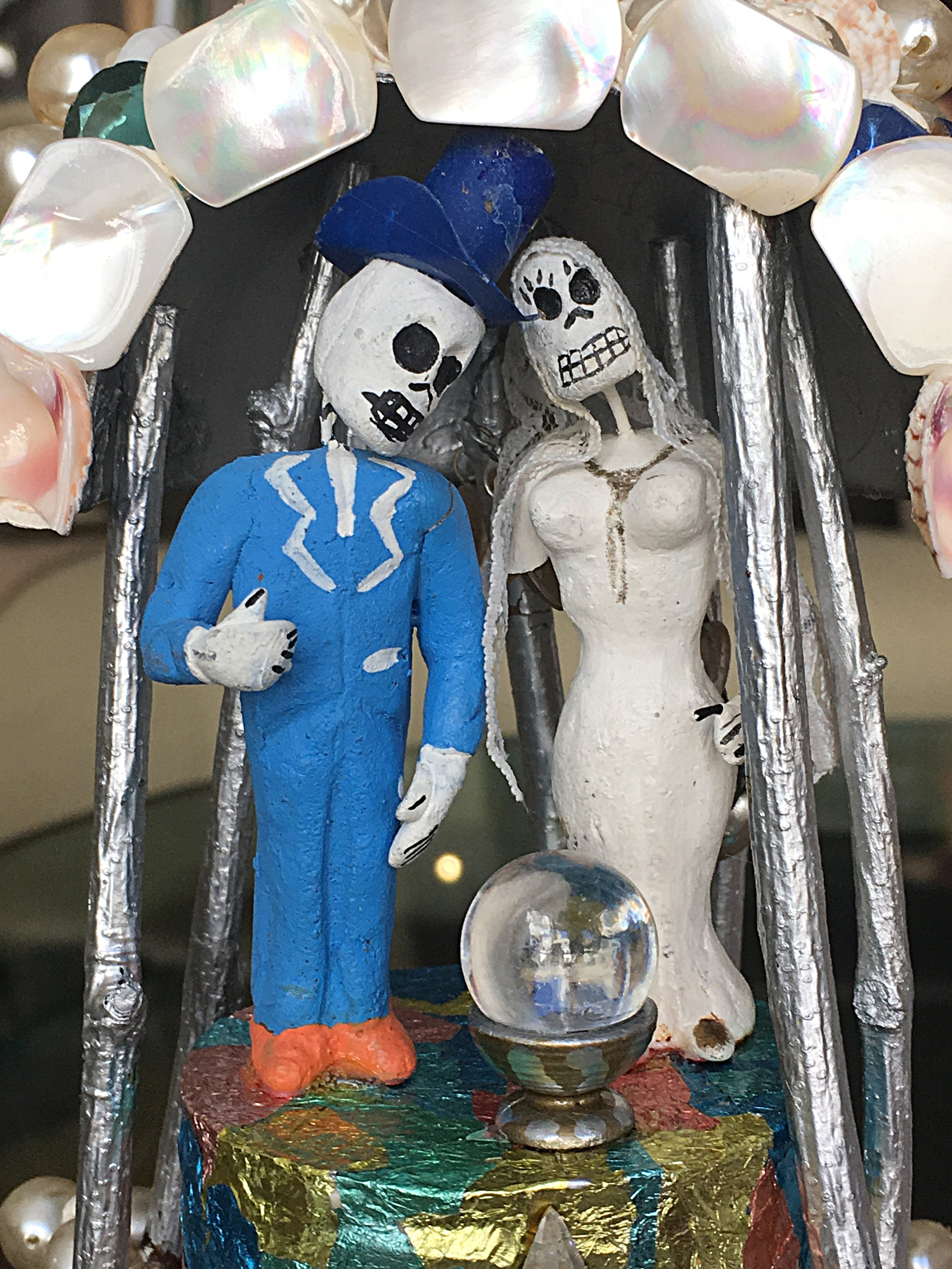 This was the cake topper on our wedding cake May 15, 1983.